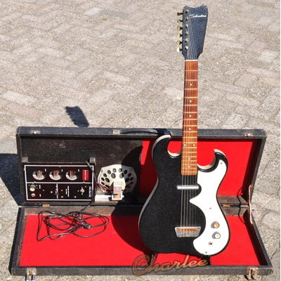 Silvertone-amp-in-case